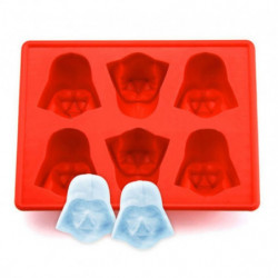 Mold for ice cubes Darth Vader