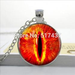 Fire  Eye Necklace
