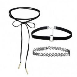 Choker Necklace For Women Long Necklaces SET