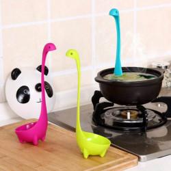 Dinosaur cooking spoon.