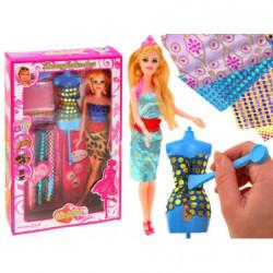 Set fashion doll clothes and Harumika