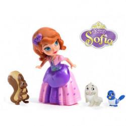 Sofia the First figurine and pet