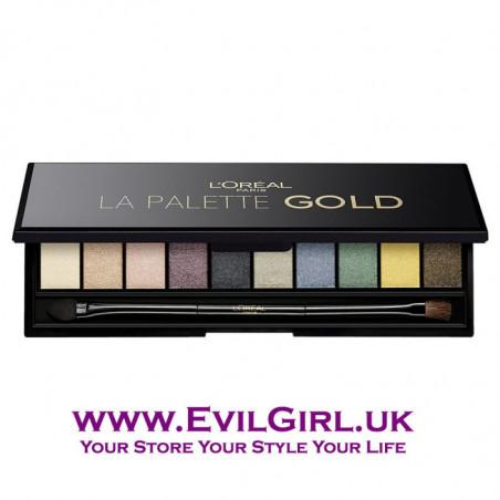 La Palette Gold LOreal paris