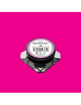 Semilac Spider Gel Gum Neon...